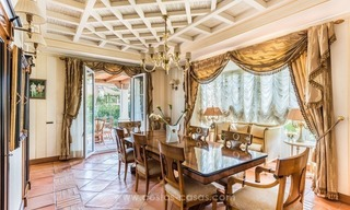 Elegant luxurious traditional style villa for sale in Sierra Blanca, the Golden Mile, Marbella 9