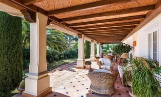 Elegant luxurious traditional style villa for sale in Sierra Blanca, the Golden Mile, Marbella 5