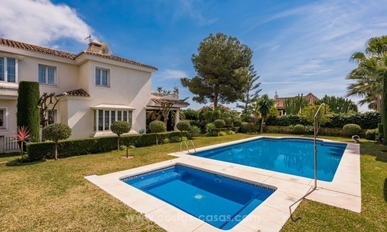 Elegant luxurious traditional style villa for sale in Sierra Blanca, the Golden Mile, Marbella 2