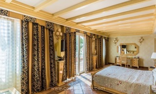Elegant luxurious traditional style villa for sale in Sierra Blanca, the Golden Mile, Marbella 12
