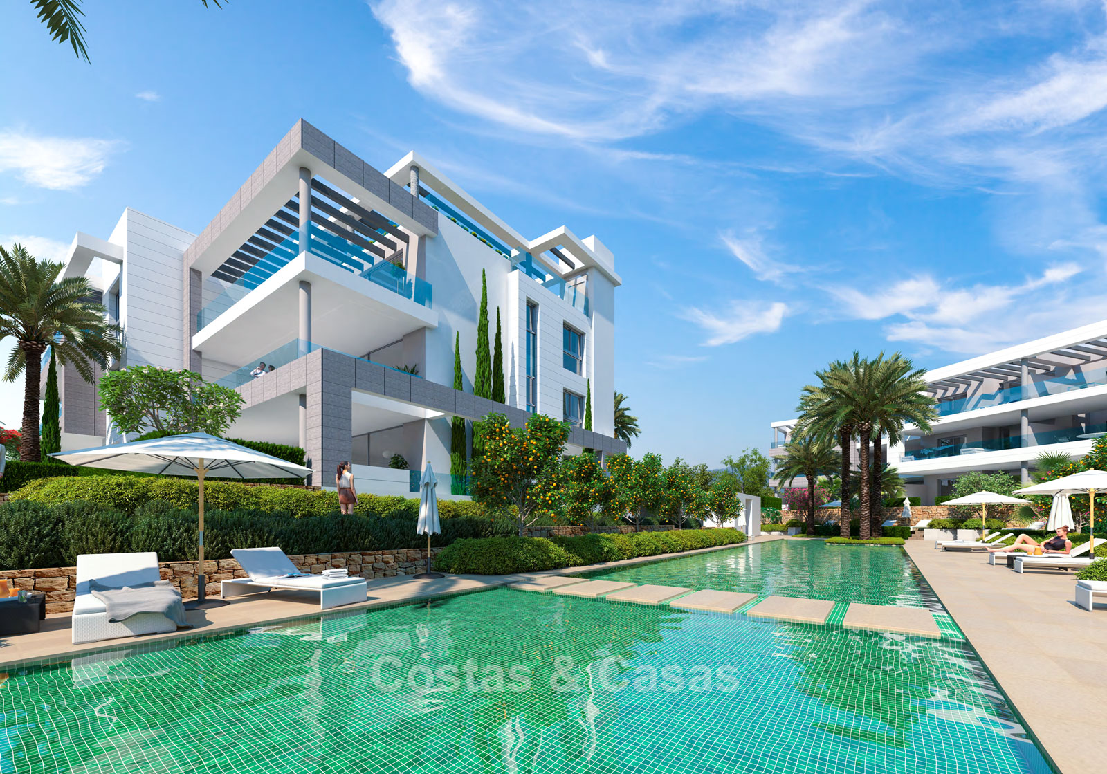 Modern Designer Apartments Near Beach For Sale Estepona Marbella