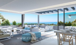 Modern designer apartments near to beach for sale between Estepona - Marbella 5600