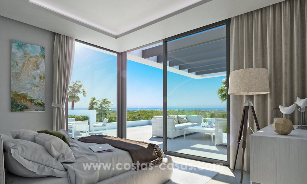 Modern designer apartments near to beach for sale between Estepona - Marbella 5601