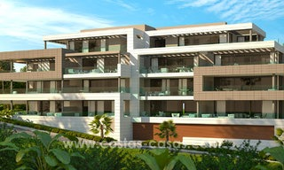 Modern designer apartments near to beach for sale between Estepona - Marbella 5598