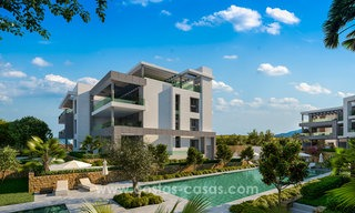 Modern designer apartments near to beach for sale between Estepona - Marbella 5599