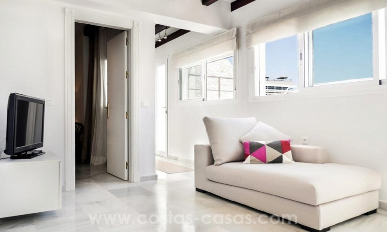 Luxury Penthouse apartment for sale, beachfront Golden Mile - Marbella centre 6