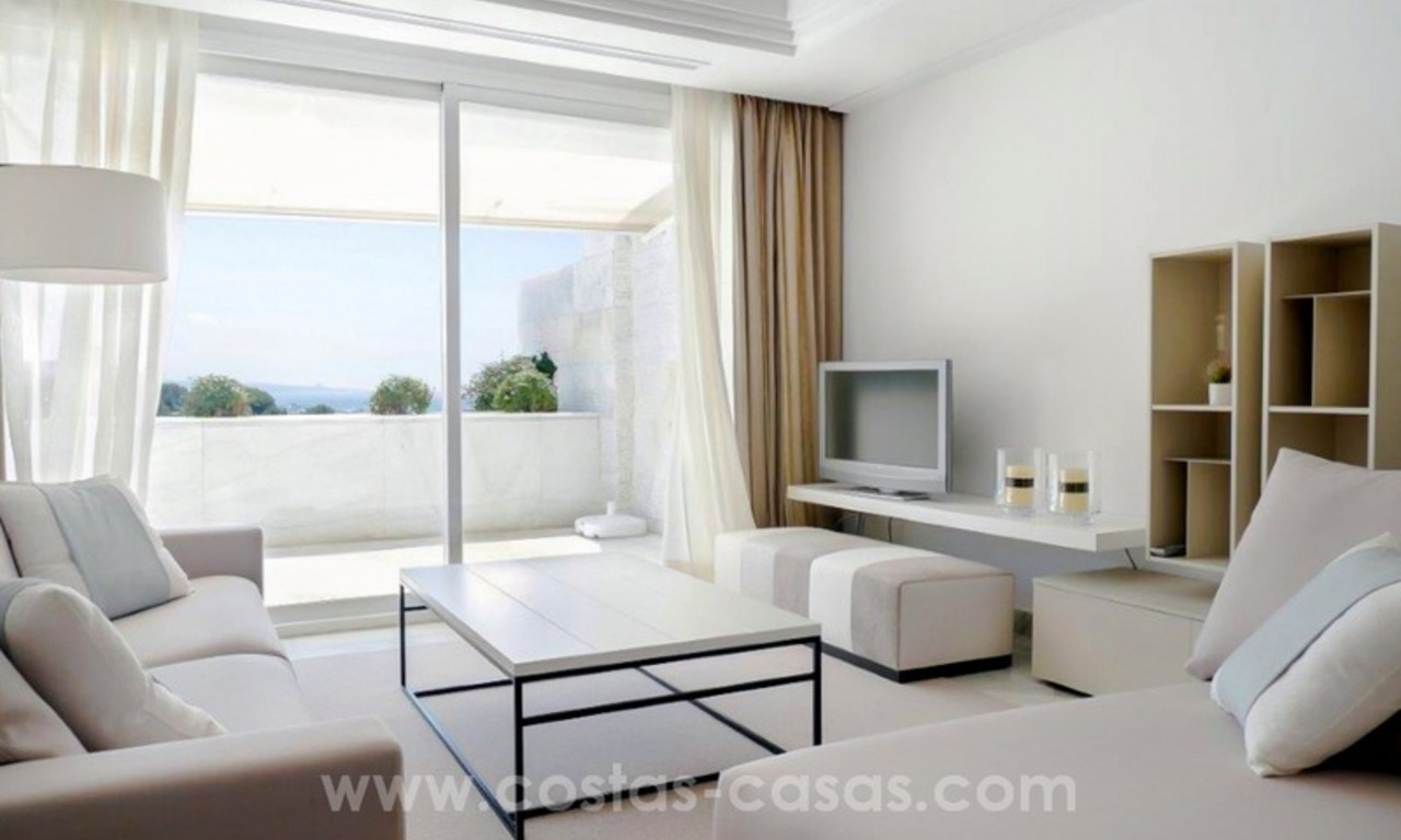 Luxury Penthouse apartment for sale, beachfront Golden Mile - Marbella centre 5