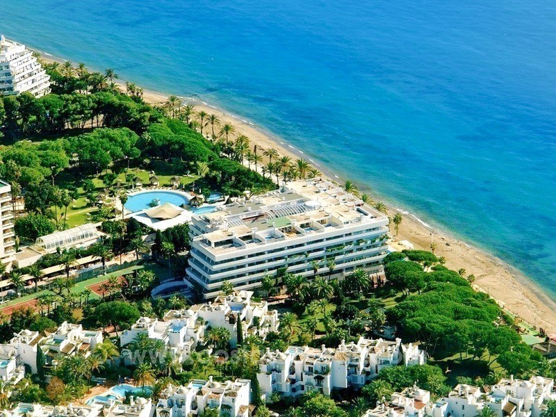 Luxury Penthouse apartment for sale, beachfront Golden Mile - Marbella centre