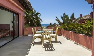 Luxury beachfront penthouse apartment for sale on the New Golden Mile between Marbella and Estepona 10
