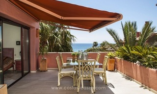 Luxury beachfront penthouse apartment for sale on the New Golden Mile between Marbella and Estepona 9