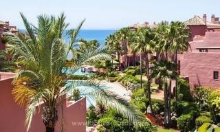 Luxury beachfront penthouse apartment for sale on the New Golden Mile between Marbella and Estepona 1