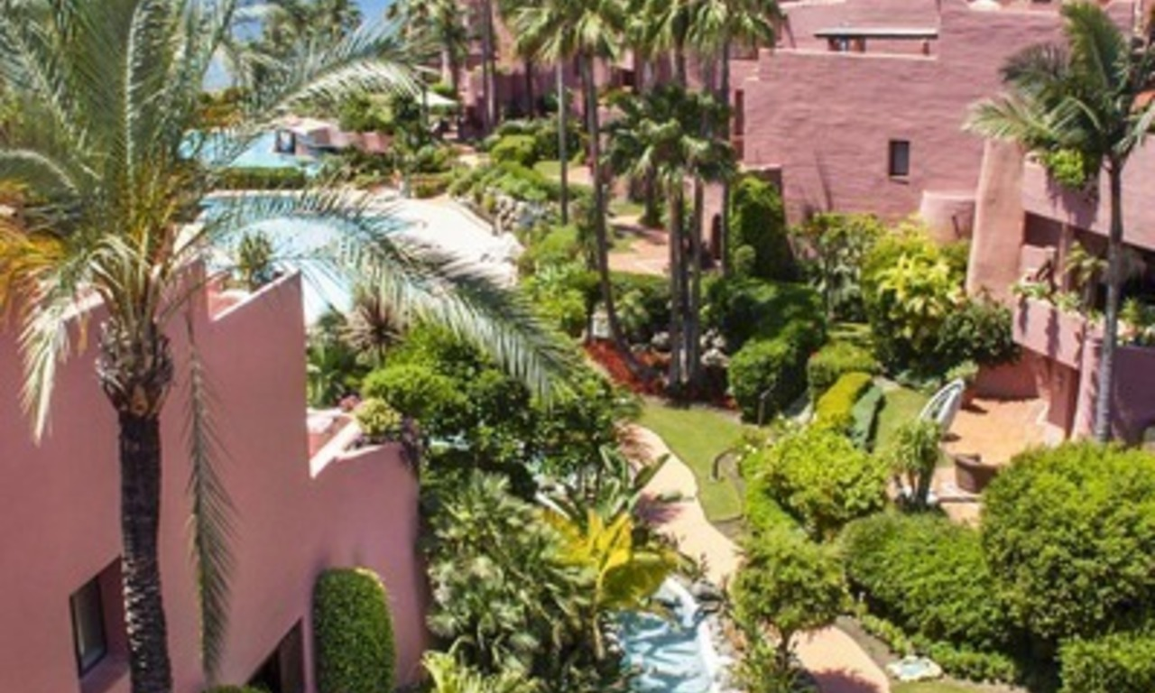 Luxury beachfront penthouse apartment for sale on the New Golden Mile between Marbella and Estepona 2