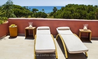 Luxury beachfront penthouse apartment for sale on the New Golden Mile between Marbella and Estepona 12