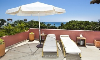 Luxury beachfront penthouse apartment for sale on the New Golden Mile between Marbella and Estepona 13