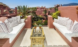 Luxury beachfront penthouse apartment for sale on the New Golden Mile between Marbella and Estepona 3