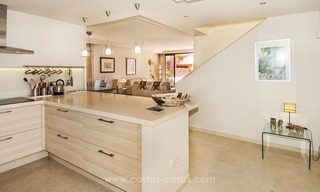 Luxury beachfront penthouse apartment for sale on the New Golden Mile between Marbella and Estepona 18