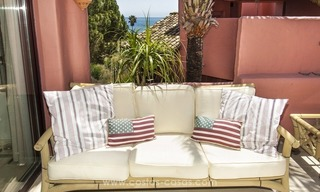 Luxury beachfront penthouse apartment for sale on the New Golden Mile between Marbella and Estepona 27
