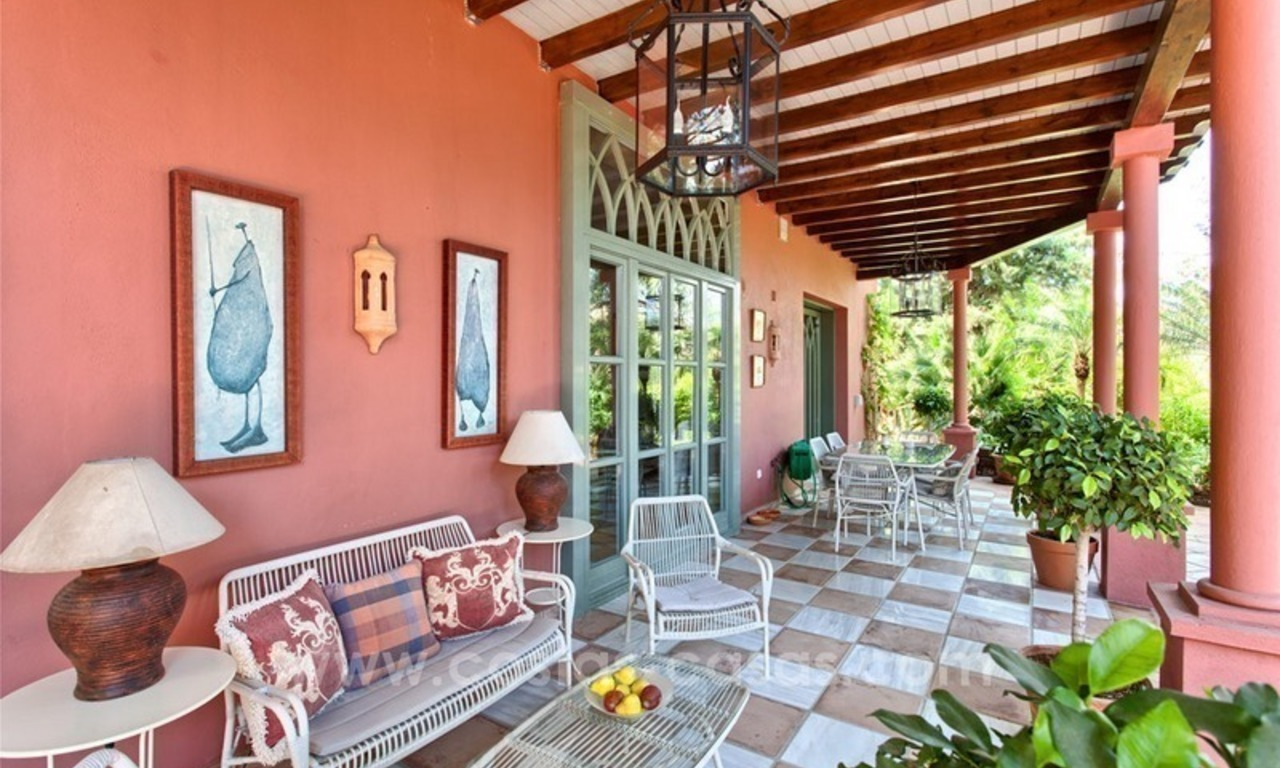 Renovated charming villa for sale in Hacienda Las Chapas – Marbella 6