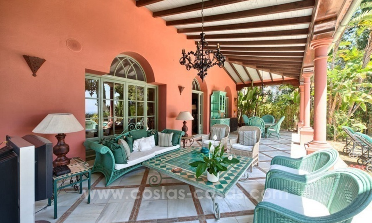 Renovated charming villa for sale in Hacienda Las Chapas – Marbella 8
