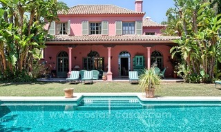 Renovated charming villa for sale in Hacienda Las Chapas – Marbella 1