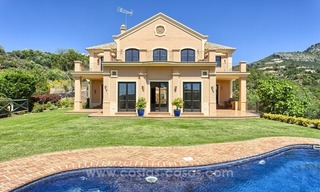 For Sale: Classic Villa at Golf Resort in Benahavís – Marbella 0