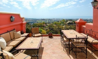Panoramic Sea View 3 Bed Penthouse Apartment for Sale in Marbella - Benahavis 0