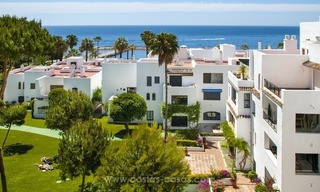 Front Line Beach Puerto Banus for Sale in Playas del Duque: Totally Refurbished Super Luxury Sea View Apartment 2