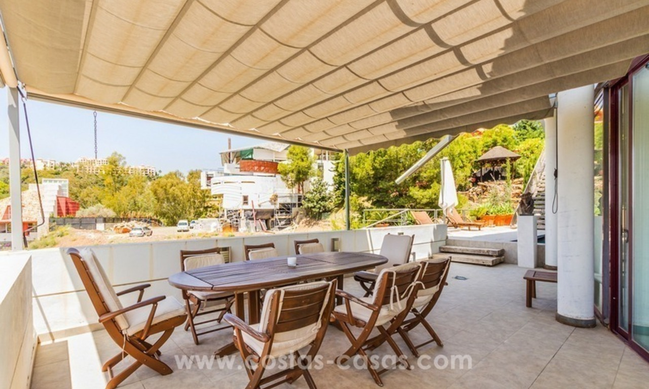 Ultra modern villa for sale at golf course - Marbella 1