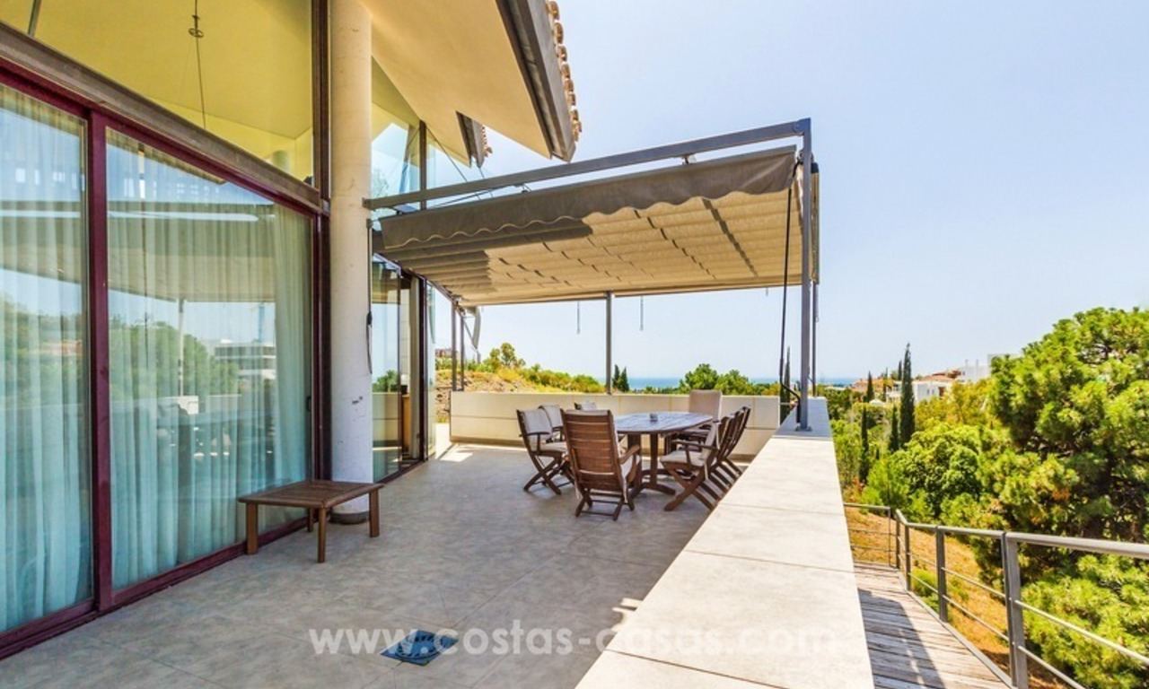 Ultra modern villa for sale at golf course - Marbella 2