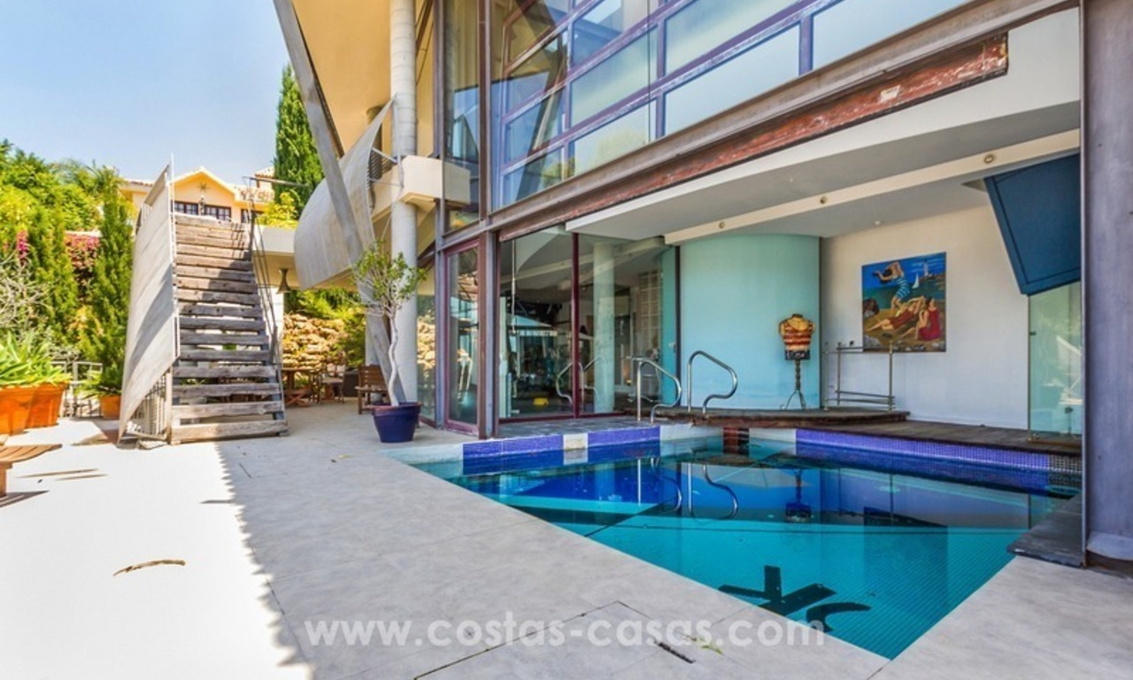 Ultra modern villa for sale at golf course - Marbella 3