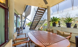 Ultra modern villa for sale at golf course - Marbella 7