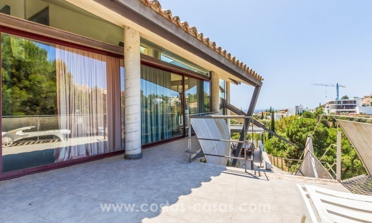 Ultra modern villa for sale at golf course - Marbella 8