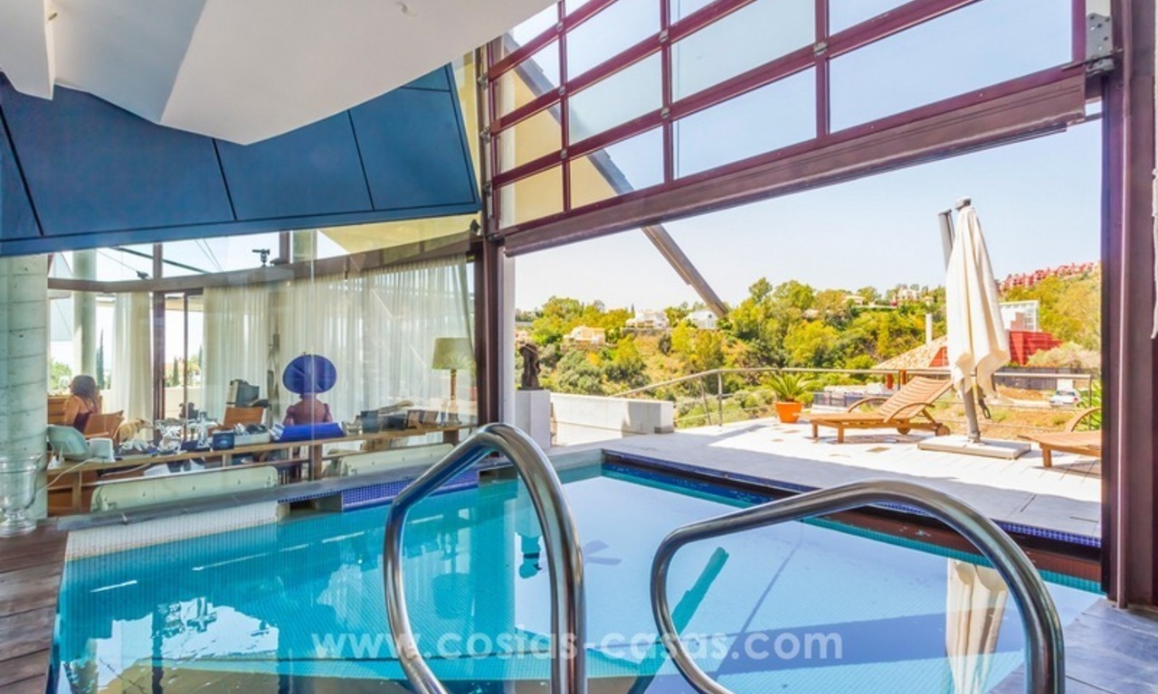 Ultra modern villa for sale at golf course - Marbella 9