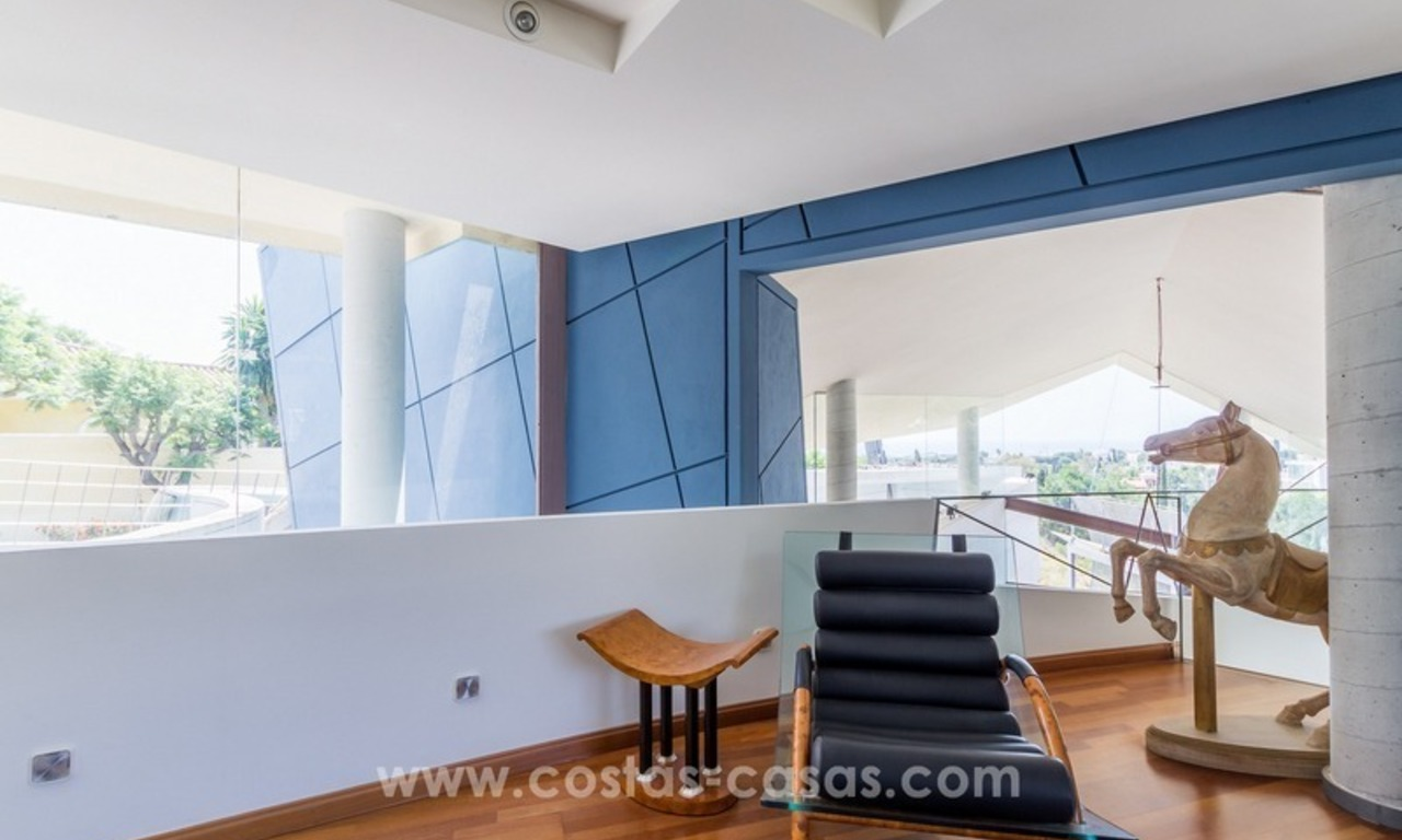 Ultra modern villa for sale at golf course - Marbella 11