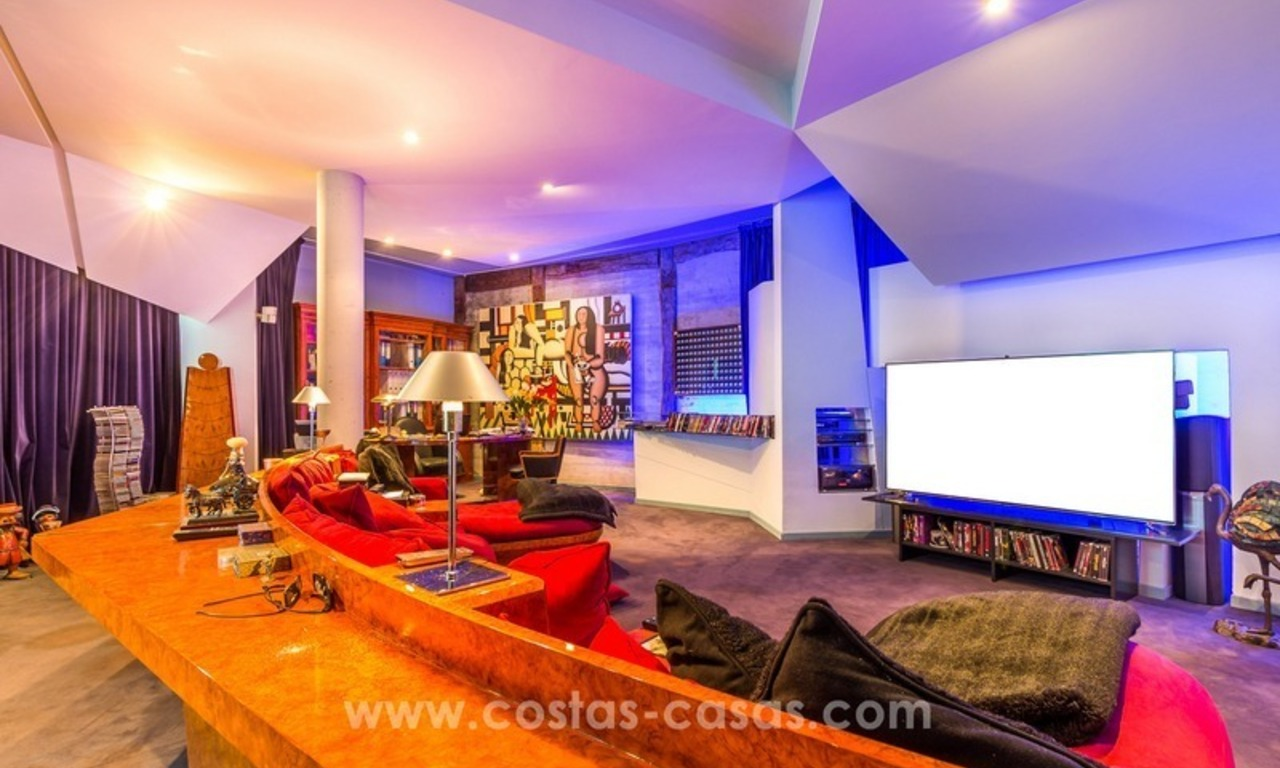 Ultra modern villa for sale at golf course - Marbella 23