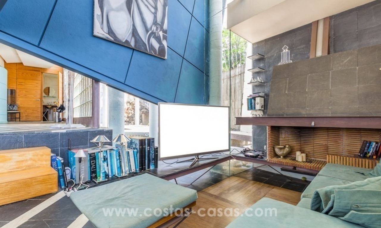 Ultra modern villa for sale at golf course - Marbella 24