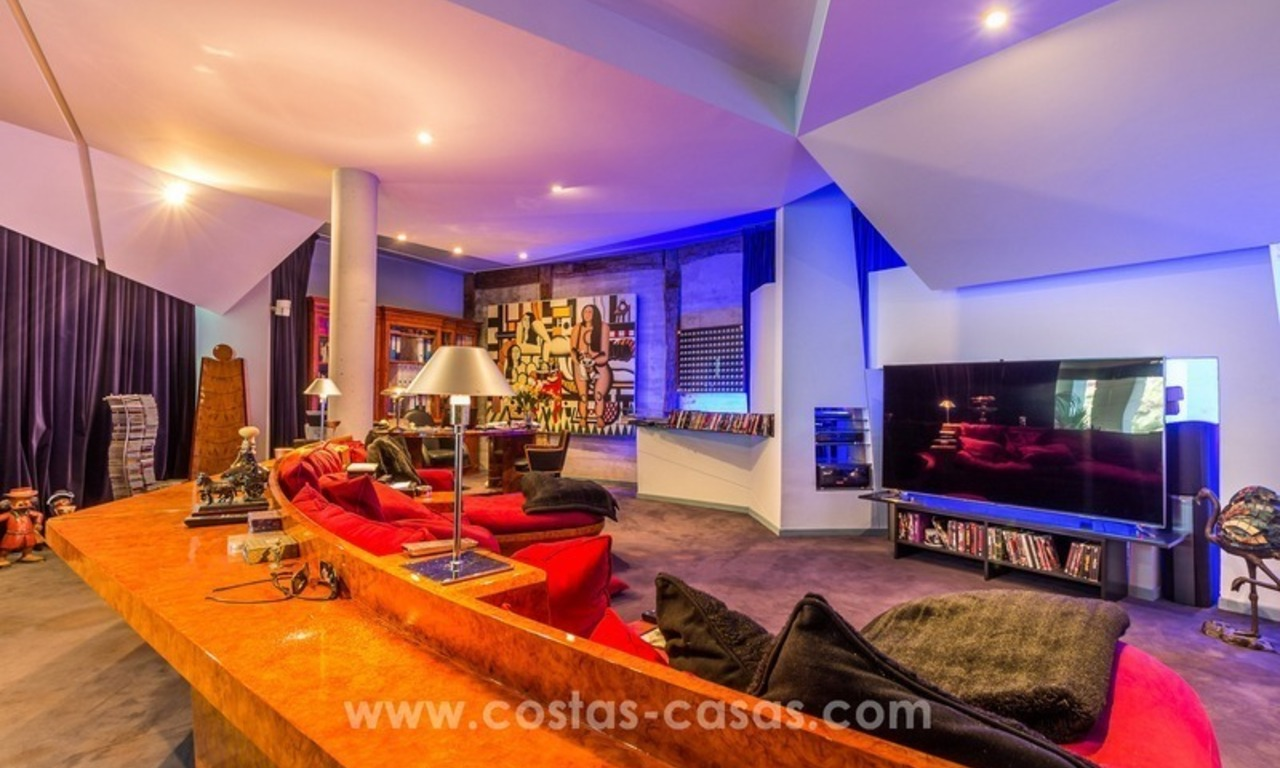 Ultra modern villa for sale at golf course - Marbella 26
