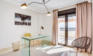Large corner penthouse for sale with sea and mountain views in the heart of San Pedro, Marbella 14