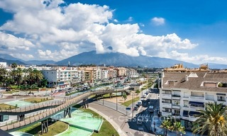 Large corner penthouse for sale with sea and mountain views in the heart of San Pedro, Marbella 4