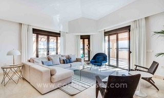 Large corner penthouse for sale with sea and mountain views in the heart of San Pedro, Marbella 9