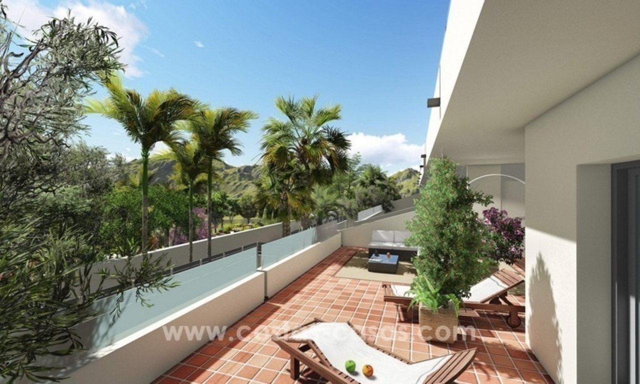 New modern apartments and penthouses for sale, New Golden Mile, Marbella - Estepona 2