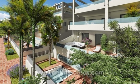 New modern apartments and penthouses for sale, New Golden Mile, Marbella - Estepona 1