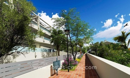 New modern apartments and penthouses for sale, New Golden Mile, Marbella - Estepona 3