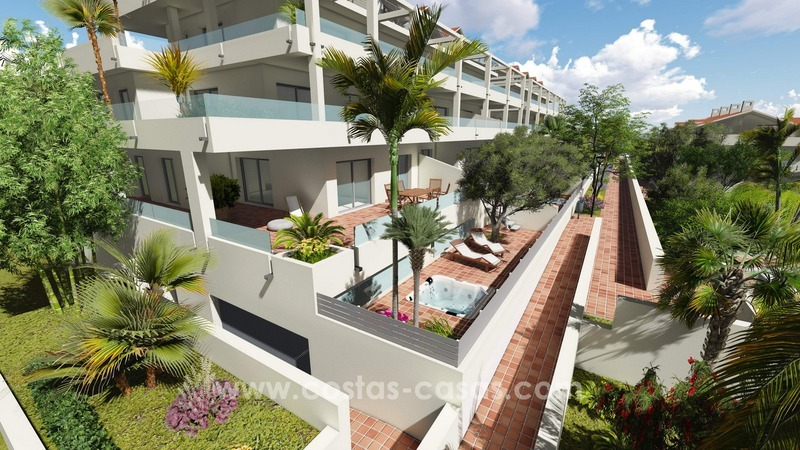 New modern apartments and penthouses for sale, New Golden Mile, Marbella - Estepona