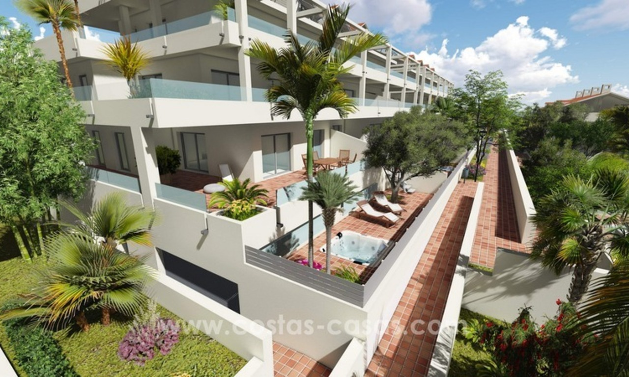 New modern apartments and penthouses for sale, New Golden Mile, Marbella - Estepona 0