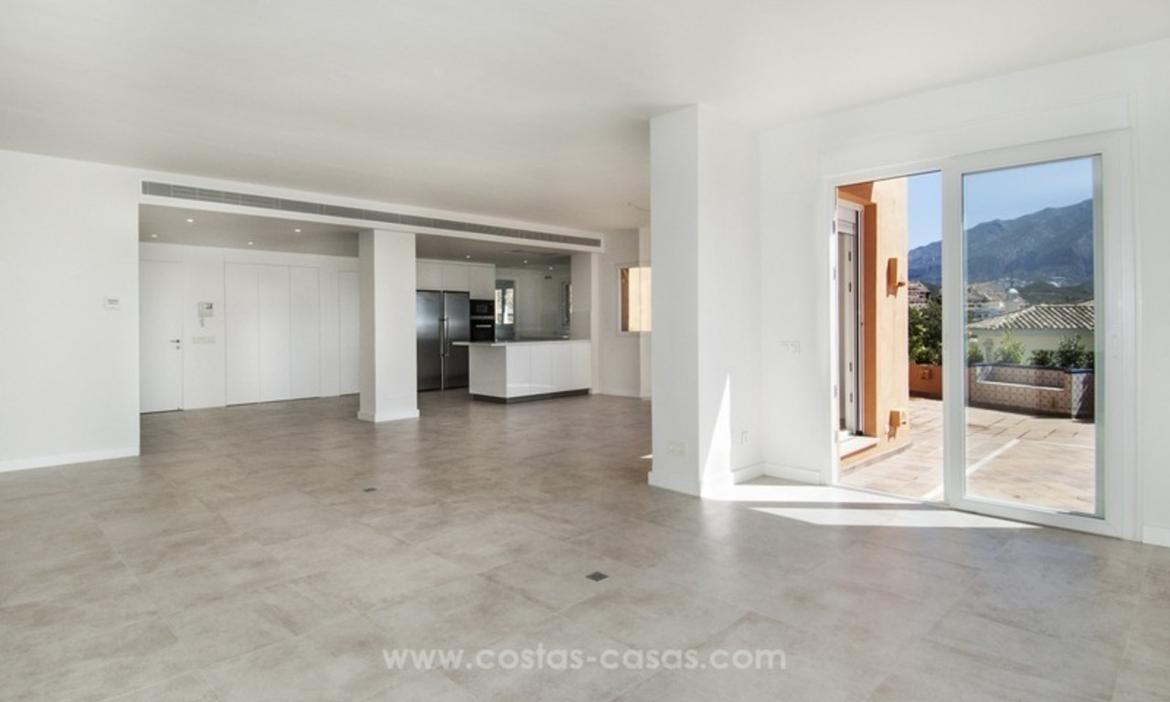 Marbella – Nueva Andalucia For Sale: Stunning Fully Refurbished Apartment In Highly Sought After Complex 10