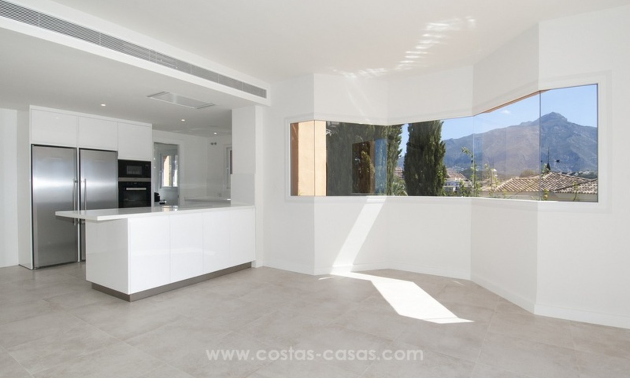 Marbella – Nueva Andalucia For Sale: Stunning Fully Refurbished Apartment In Highly Sought After Complex 11