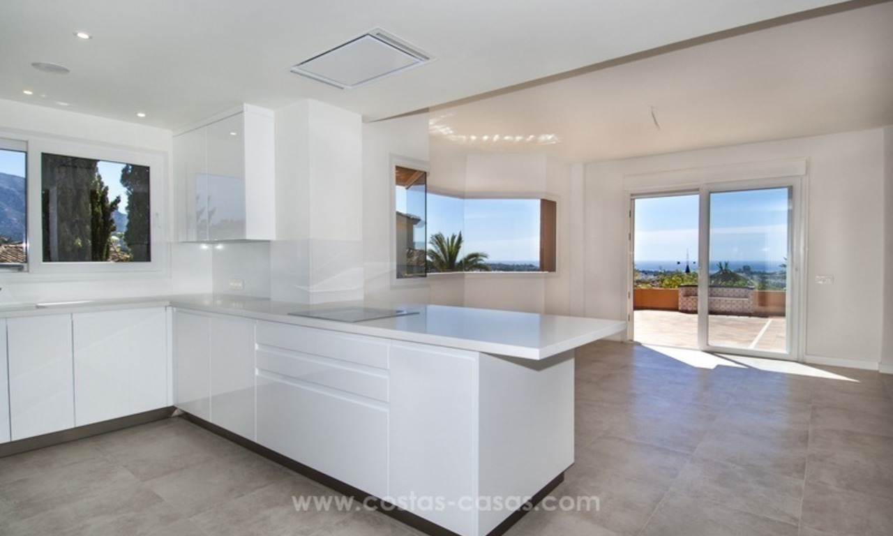 Marbella – Nueva Andalucia For Sale: Stunning Fully Refurbished Apartment In Highly Sought After Complex 12