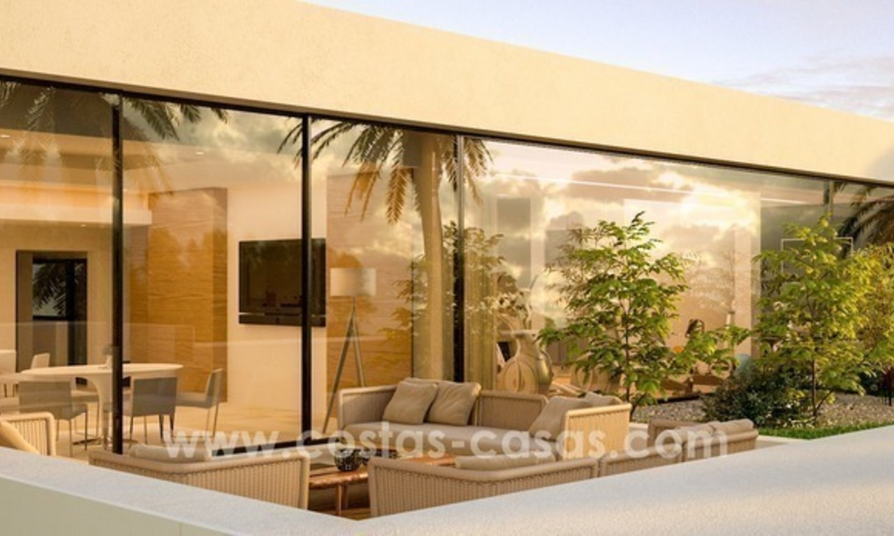 New modern Luxury Designer Villa for sale in East Marbella 11