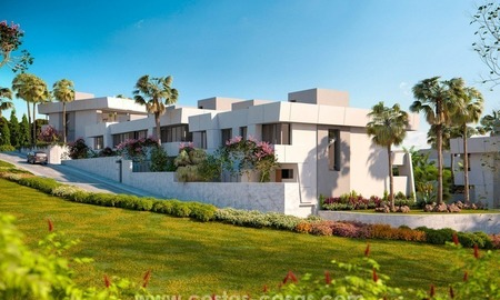 Luxury modern new townhouses for sale in East Marbella 2